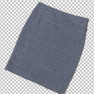 Tahari classic gray pencil skirt